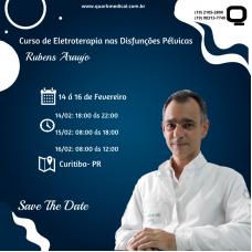 Curso - Eletroterapia nas Disfunções Pélvicas (Curitiba-PR)