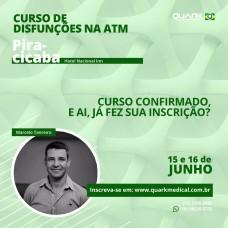 Curso - Fisioterapia Aplicada nas Disfunções da ATM - Turma A Piracicaba/SP