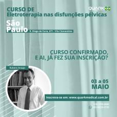 Curso - Eletroterapia nas Disfunções Pélvicas (São Paulo - SP)