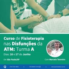 Curso - Fisioterapia Aplicada nas Disfunções da ATM (Turma A - São Paulo)
