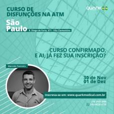 Curso - Fisioterapia Aplicada nas Disfunções da ATM - Turma B São Paulo/SP