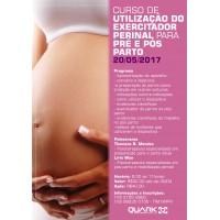 Curso - Exercitador perinal para pre e pos parto