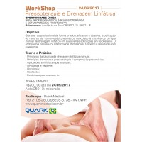 Curso - WorkShop de Pressoterapia e Drenagem Linfática
